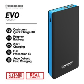 Delcell Powerbank Evo 10000