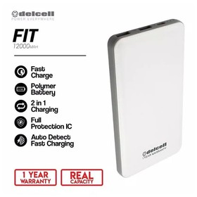 Delcell Power Bank Fit 1200