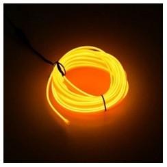 Car Ambient Decorative Accessories Light Lamp USB Power - 5M Orange