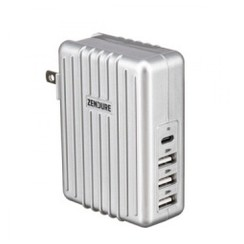 ZENDURE ZDAPD-4 - A-Series 4-Port Wall Charger with USB-C PD 30W Grey