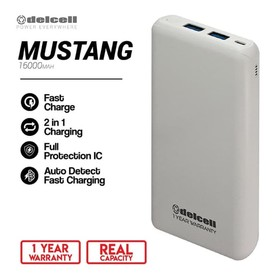Delcell Power bank Mustang