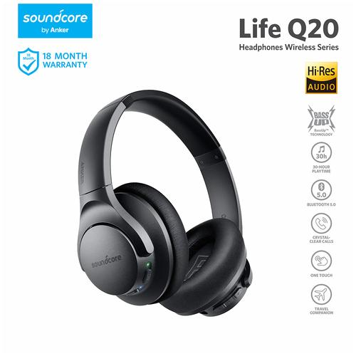Anker Soundcore Life Q20 Black Iteration - A3025