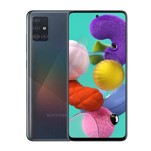 Samsung Galaxy A51 (RAM 8GB/128GB) - Prism Crush Black