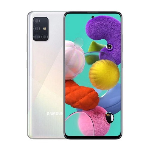 Samsung Galaxy A51 (RAM 8GB/128GB) - Prism Crush White