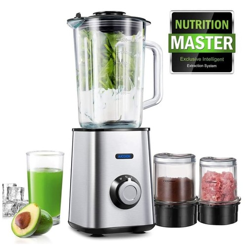 AICOOK - 3-in-1 Multifuncional Blender AMR938