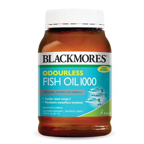 Blackmores Odourless Fish Oil 1000 - 200