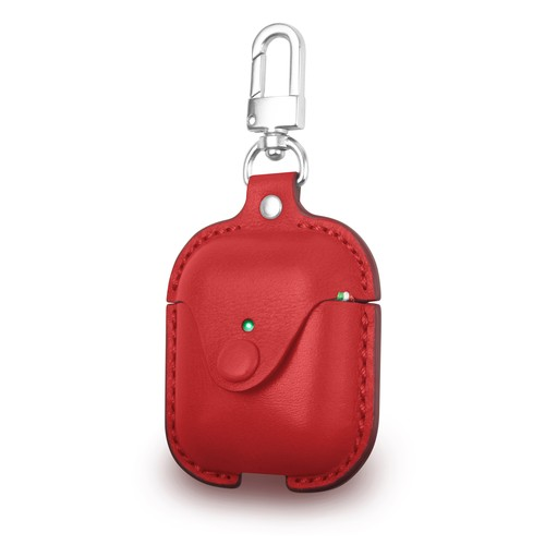 Cozistyle Leather Case for AirPods - Red (CLCPO011)