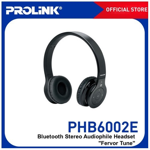Prolink Bluetooth Stereo Headset With NFC Fervor Tune (PHB6002) - Black