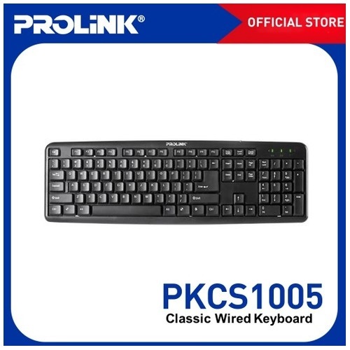 Prolink Classic USB Wired Keyboard - PKCS1005