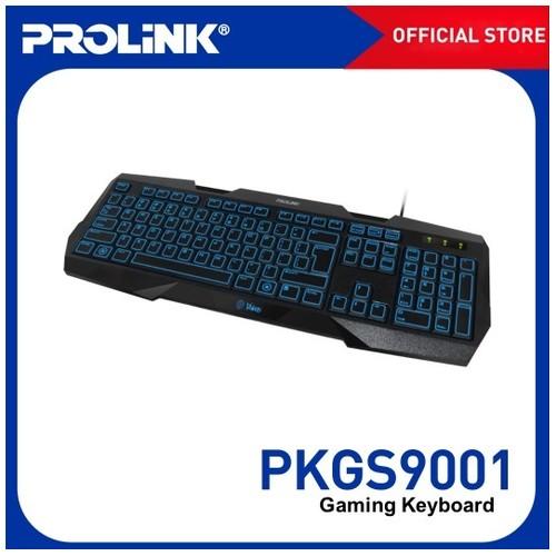 PROLINK Gaming Keyboard Illuminated LED  PKGS-9001