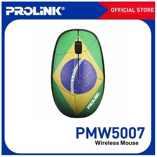 Prolink Mouse Wireless 2.4GHz 1600 DPI PMW5007 BRA