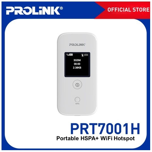 MiFi Prolink PRT7001H 21.6 Mbps Portable HSPA+ WiFi Hotspot