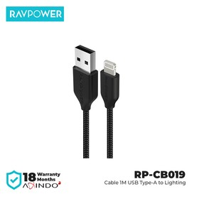 RAVPower Cable 1m USB-A to