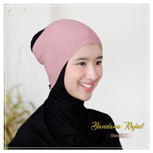 Audina Bandana Rajut - Dusty Pink