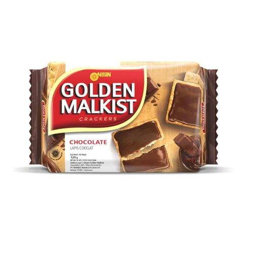 Nissin Golden malkist Chocolate Coated 120g