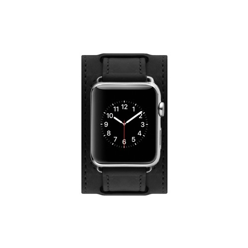 Cozistyle Leather Band for Apple Watch with Wider Pad 42mm Black (CWLB10)