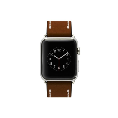 Cozistyle Leather Band for Apple Watch with normal width 42mm Dark Brown (CLB012)