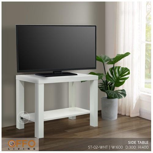Offo Living Furnit - Meja TV Rak TV ST-02-WHT