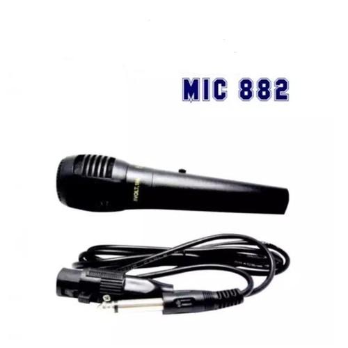 Microphone Advance 882 original mic dengan switch on off Original