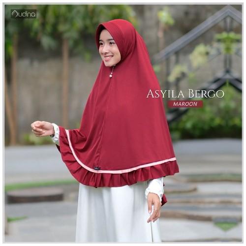 Audina Asyila Khimar - Maroon