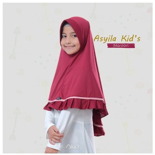 Audina Asyila Kids - Maroon