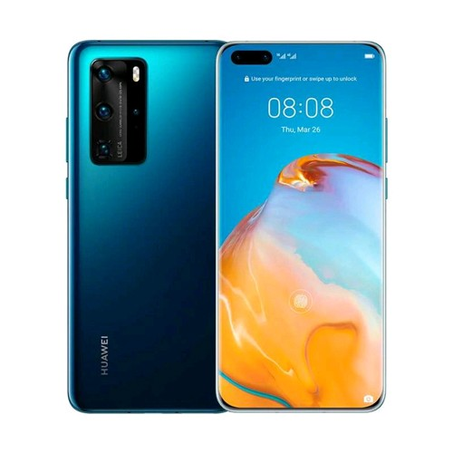 Huawei P40 Pro (RAM 8GB/256GB) - Deep Sea Blue