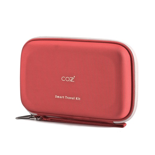 Cozistyle Smart Travel Kit for Apple Accessories - Red (CSTK011)