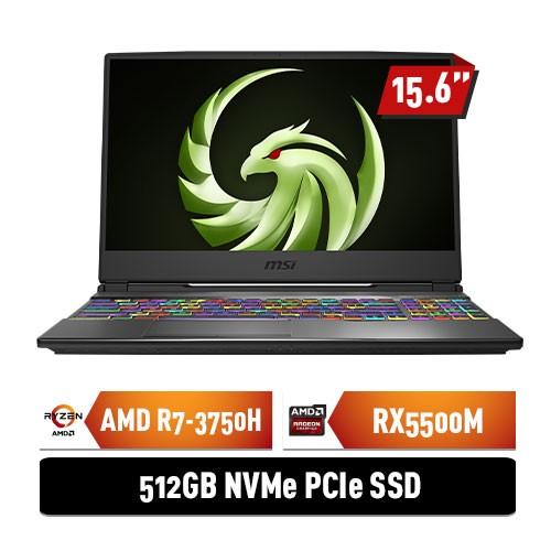 MSI Notebook Alpha 15 A3DDK with AMD Radeon RX5500M - Black