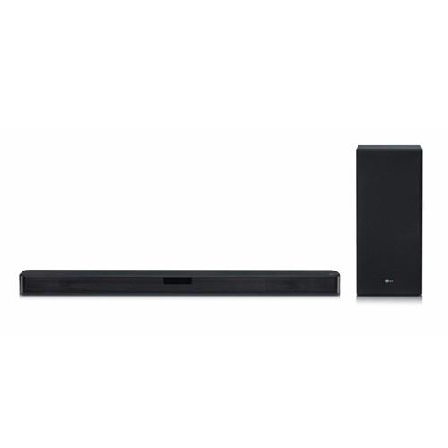 LG SL5Y 2.1 Channel 400W Sound Bar w/ DTS Virtual & High Resolution Audio - Black