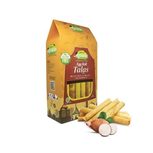 Pawon Narasa - Snack Gluten Free Egg Roll TALAS [Dus]