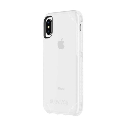 Griffin Survivor Strong for iPhone Xs & iPhone X - Clear