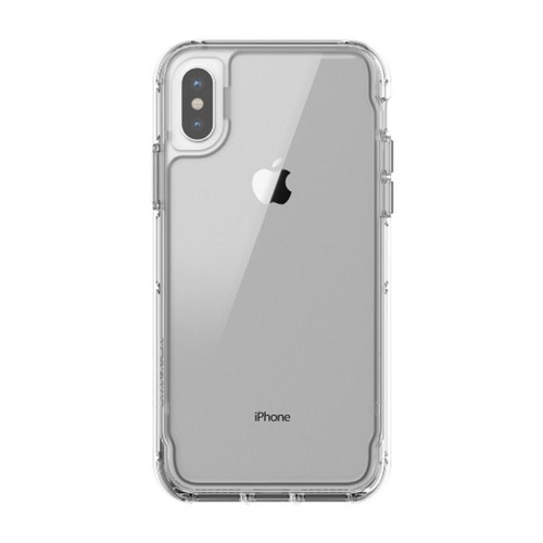 Griffin Survivor Clear for iPhone Xs & iPhone X - Clear/Iris
