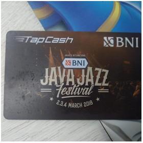 BNI TapCash Java Jazz Festi