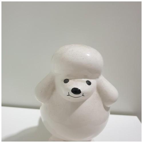 Pajangan Keramik Anjing Unik