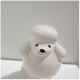 Pajangan Keramik Anjing Uni