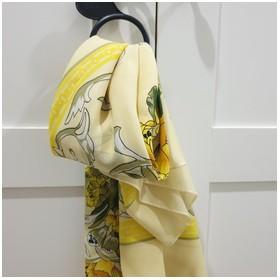 Scarf Bunga Kuning