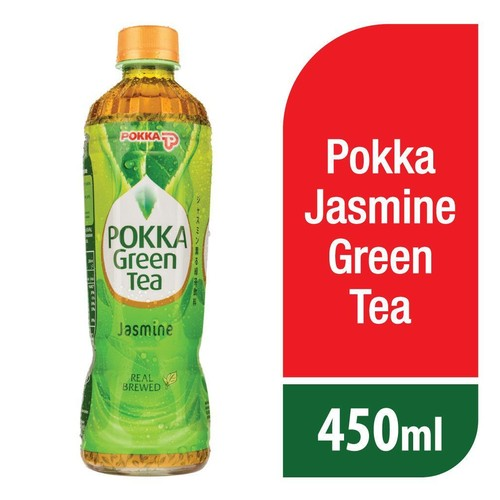 Pokka Jasmine Green Tea 450 ML ( 1 Pcs )