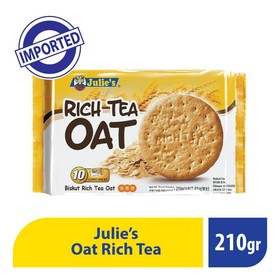 Julies Rich Tea Oat 200 Gr