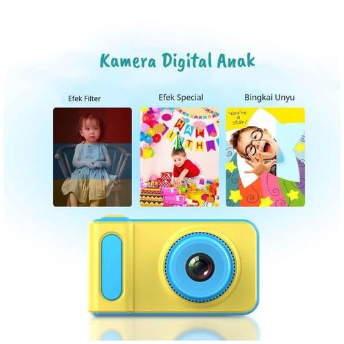 Kamera Mini Anak Digital X1 Pink