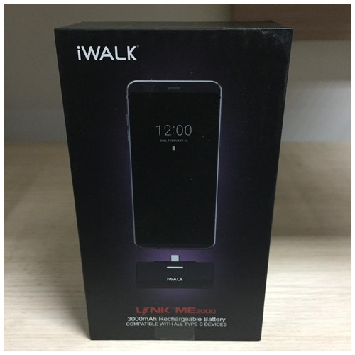 iWalk 3000mAh Rechargeable Battery