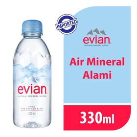 Evian Pet 330 ML - 1 Pcs
