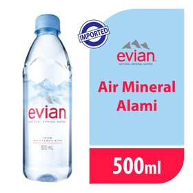 Evian Pet 500 ML - 1 Pcs