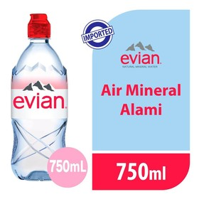 Evian Pet 750 ML - 1 Pcs