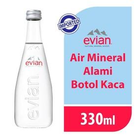 Evian Glass 330 ML - 1 Pcs