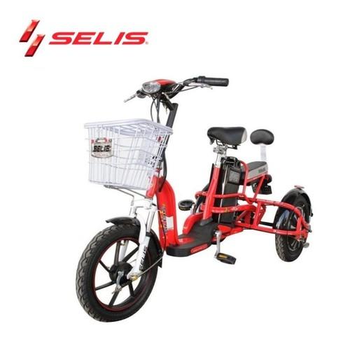 Sepeda listrik Selis tipe Butterfly Trike