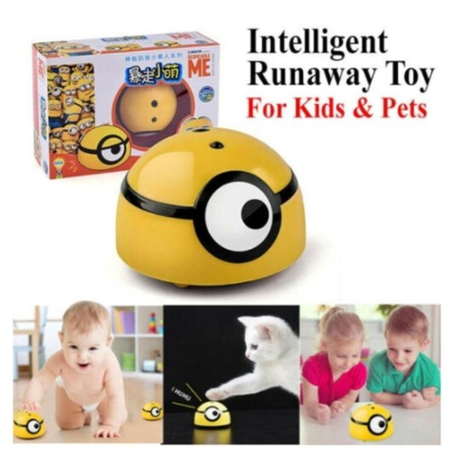 Intelligent escaping minion toy For Kids & Pets Intelligent Runaway Toy