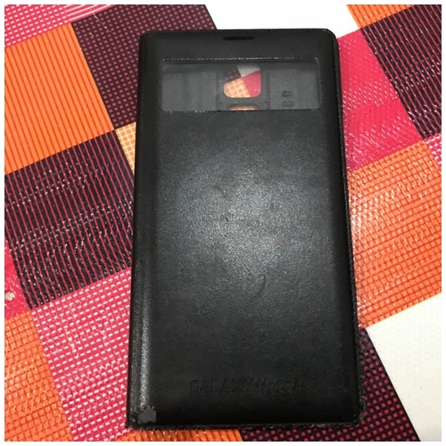 Samsung Casing flip cover Note 4 - Black