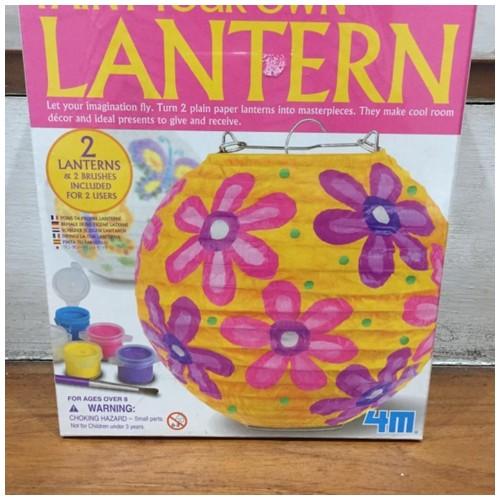 4M Paint Your Own Lantern