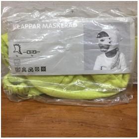 Ikea Topeng Kain - hijau -