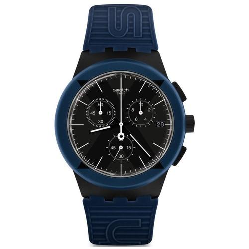 Swatch SUSB418 X-District Blue - Blue